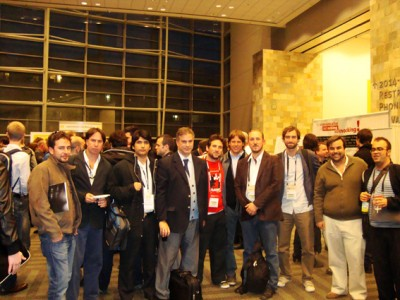 Delegación argentina en el Game Connection 2010